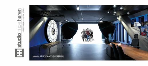 Cadeaubon voor fotograaf Studio Hoge Heren in Rotterdam